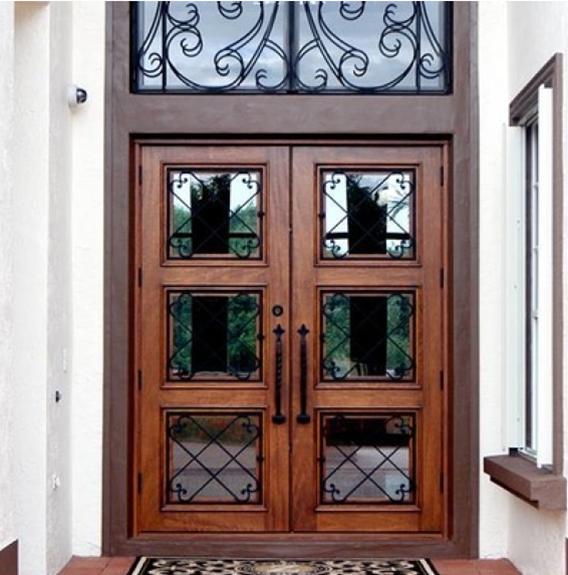 Manufactured By Exclusive Wood Doors Exclusivewooddoors Ewd Solidwooddoors Wooddoors Mahogany Irondoor Wroug Wood Doors Mahogany Wood Doors Custom Door