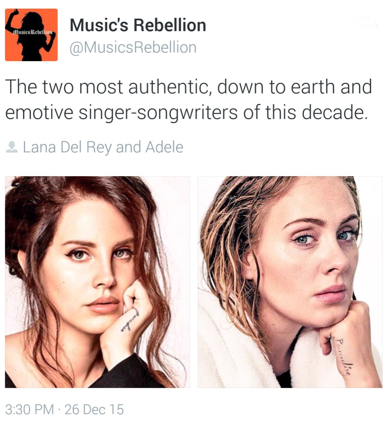 Music S Rebellion Speaks The Truth About Lana Del Rey And Adele