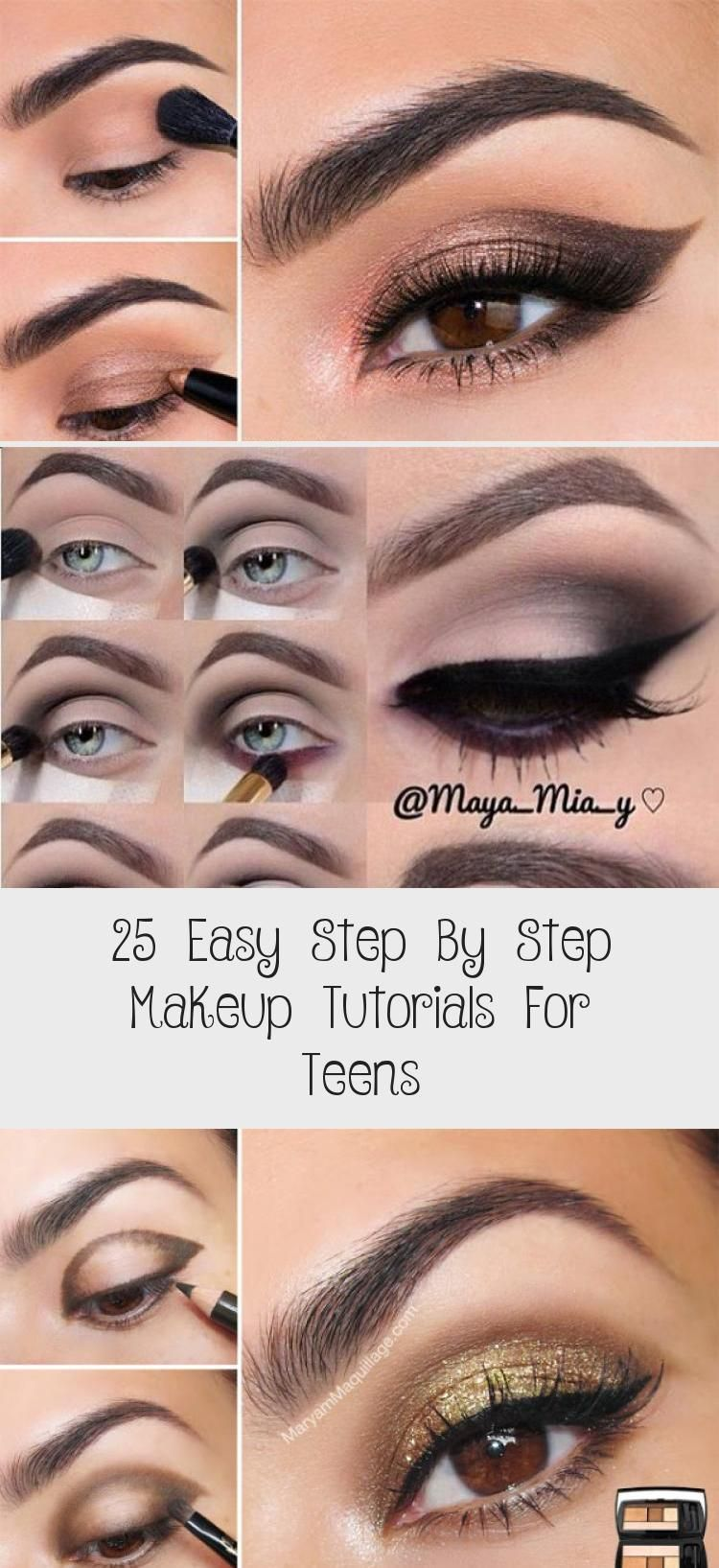 25 Easy Step By Step Makeup Tutorials For Teens - Makeup ...