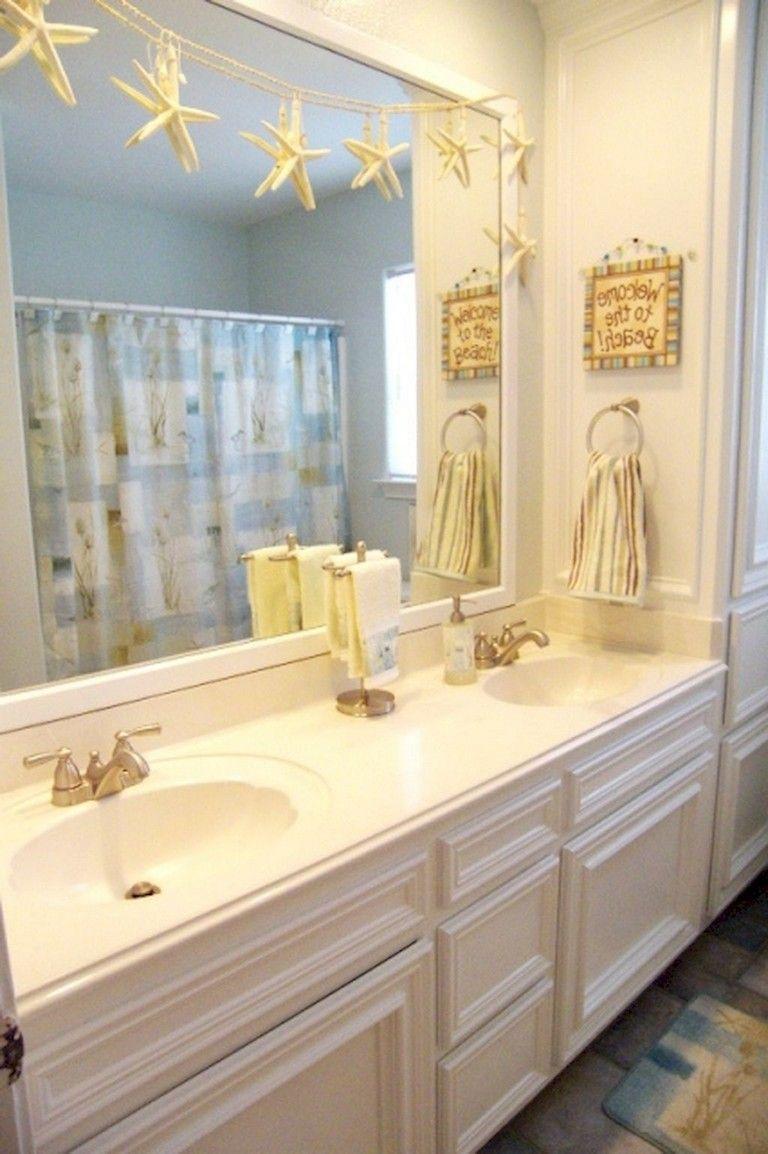 59 Gorgeous Coastal Beach Bathroom Decoration Ideas Bathroom