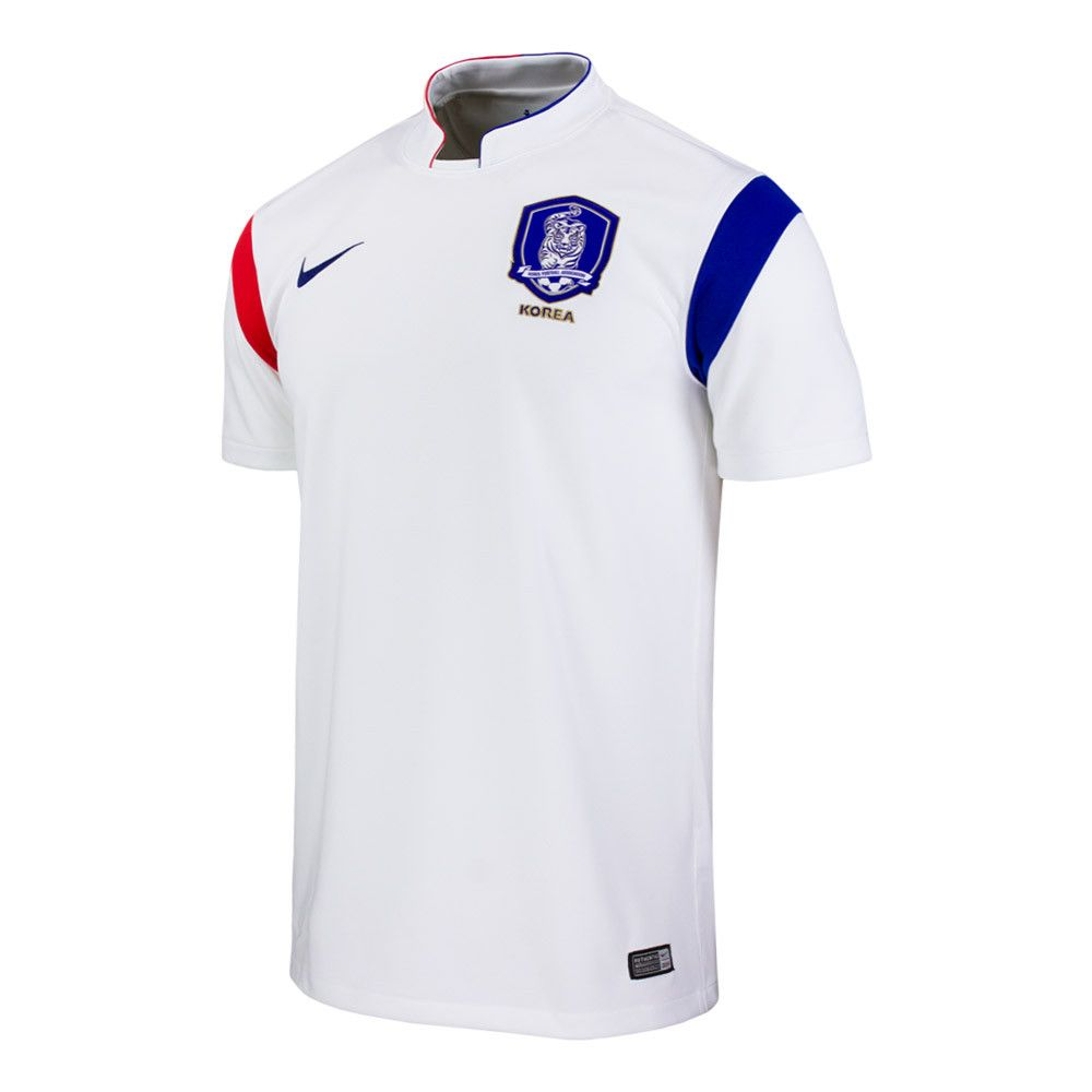 f4668478d South Korea World Cup Official White Nike Dri-Fit Mens Soccer Jersey (X- Large)