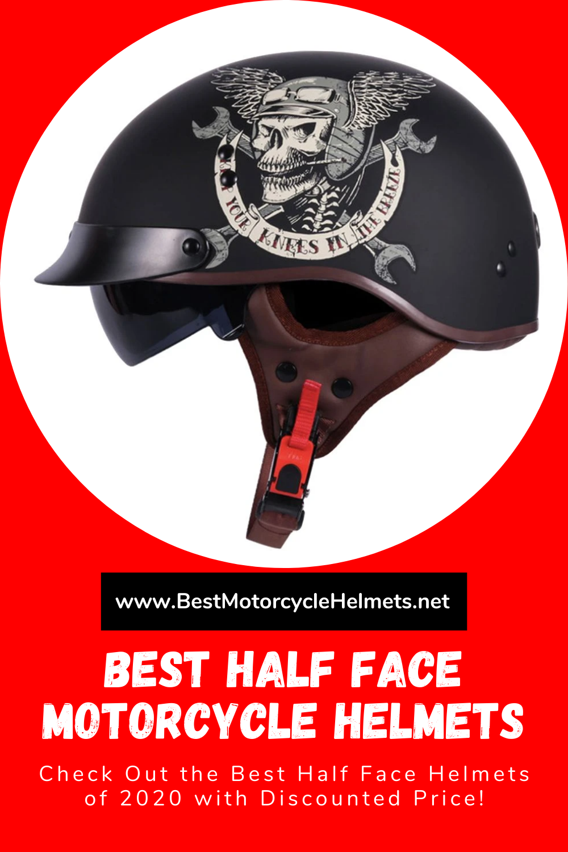 Best Half Face Motorcycle Helmets In 2020