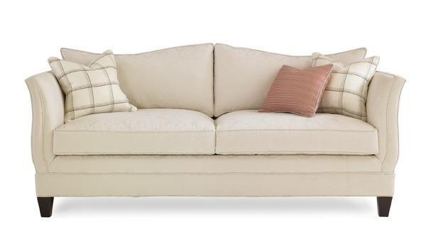 Sofa Slender Feminine 80 Inch Frame That Sits As Lovely As It