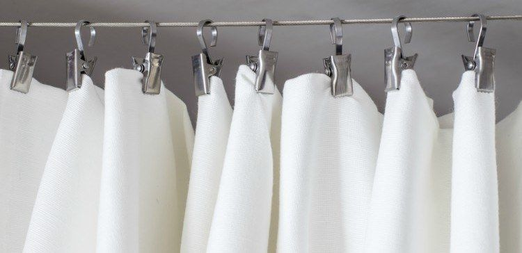 You Ll Wash Your Shower Curtain With Salt From Now On Clean Shower Curtains Clean Shower Curtain Liner Shower Cleaner