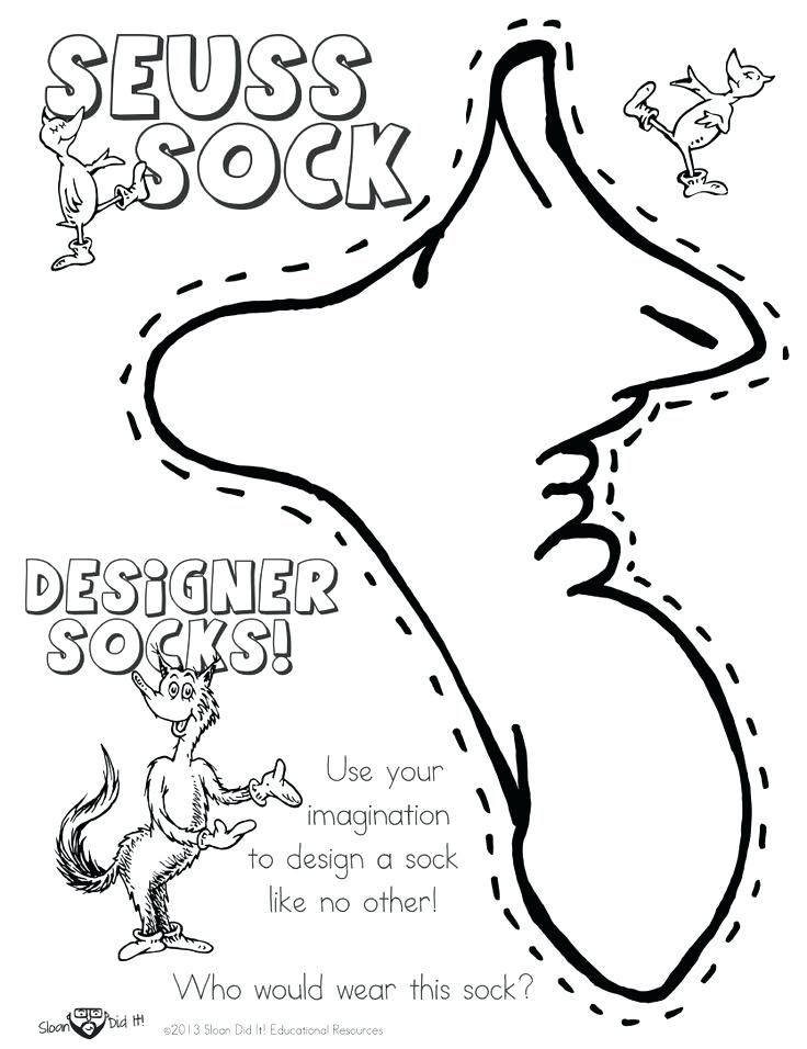 Dr Seuss Coloring Pages Green Eggs And Ham Activities Free