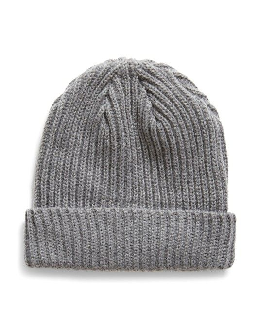 24b2643e8de New In. The Idle Man Small Fisherman Beanie Grey