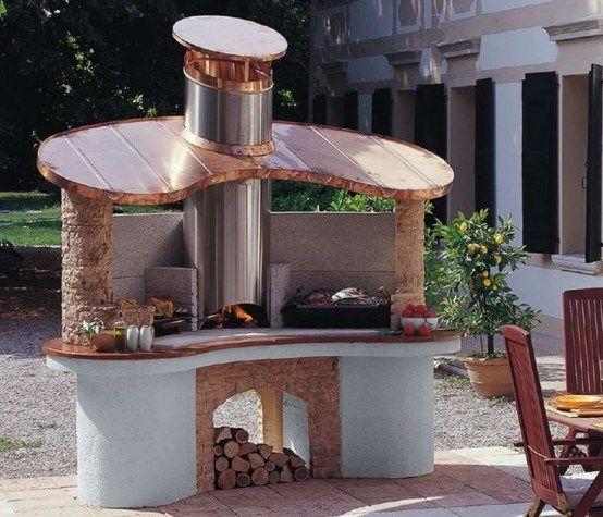 Outdoor Barbeque Ideas Gardening Pinterest Outdoor barbeque