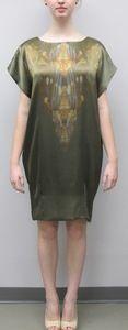 Zoran Dobric Printed Shift Dress