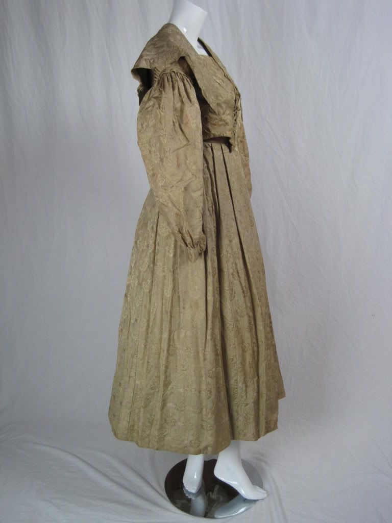 5e773092672a Early 1840's styled dress Raincoat, Victorian, Antiques, Gowns, Womens  Fashion, Jackets