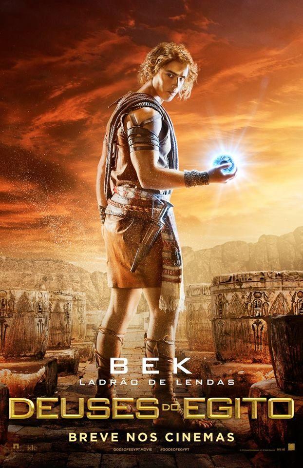 Deuses Do Egito Gods Of Egypt Bek Deuses Do Egito Filme Egito