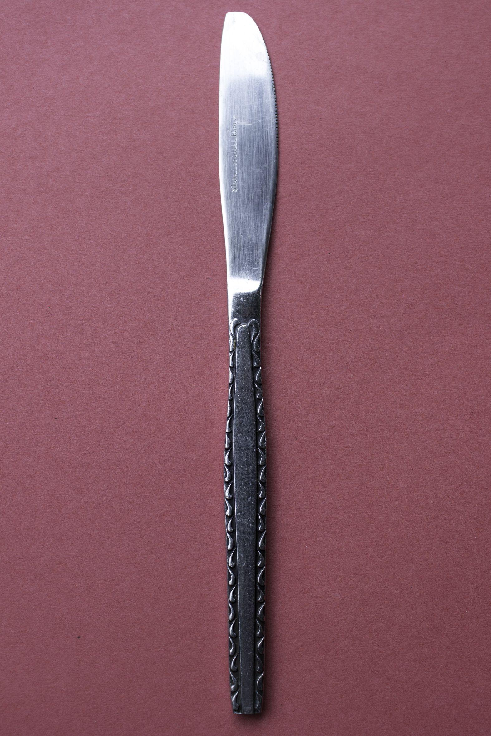 Flatware Knife  Stainless Steel Korea