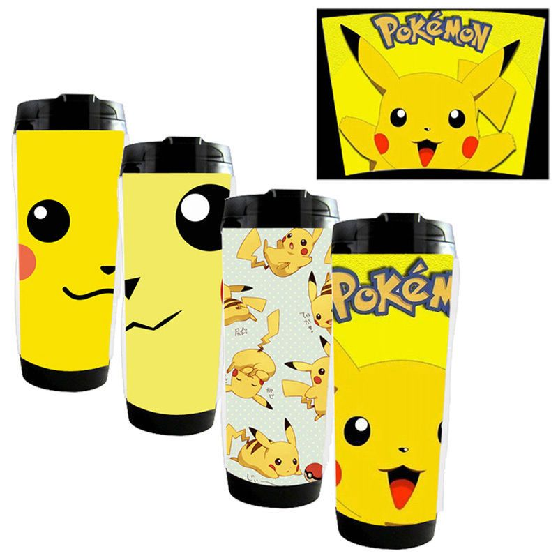 b6005174e98 2016 Pokemon Go Team Pikachu Travel Cup Reusable Insulated Beverage Coffee  Tea…