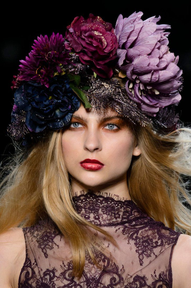 947be9130181c These Are the Best Beauty Looks of NYFW (So Far!) Michael Costello S S 2017