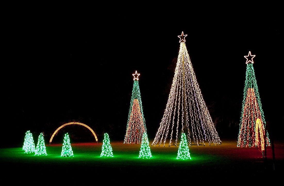 James Island Lights Alluring Another Highlight Of The Holiday Festival Of Lights In James Island Decorating Design