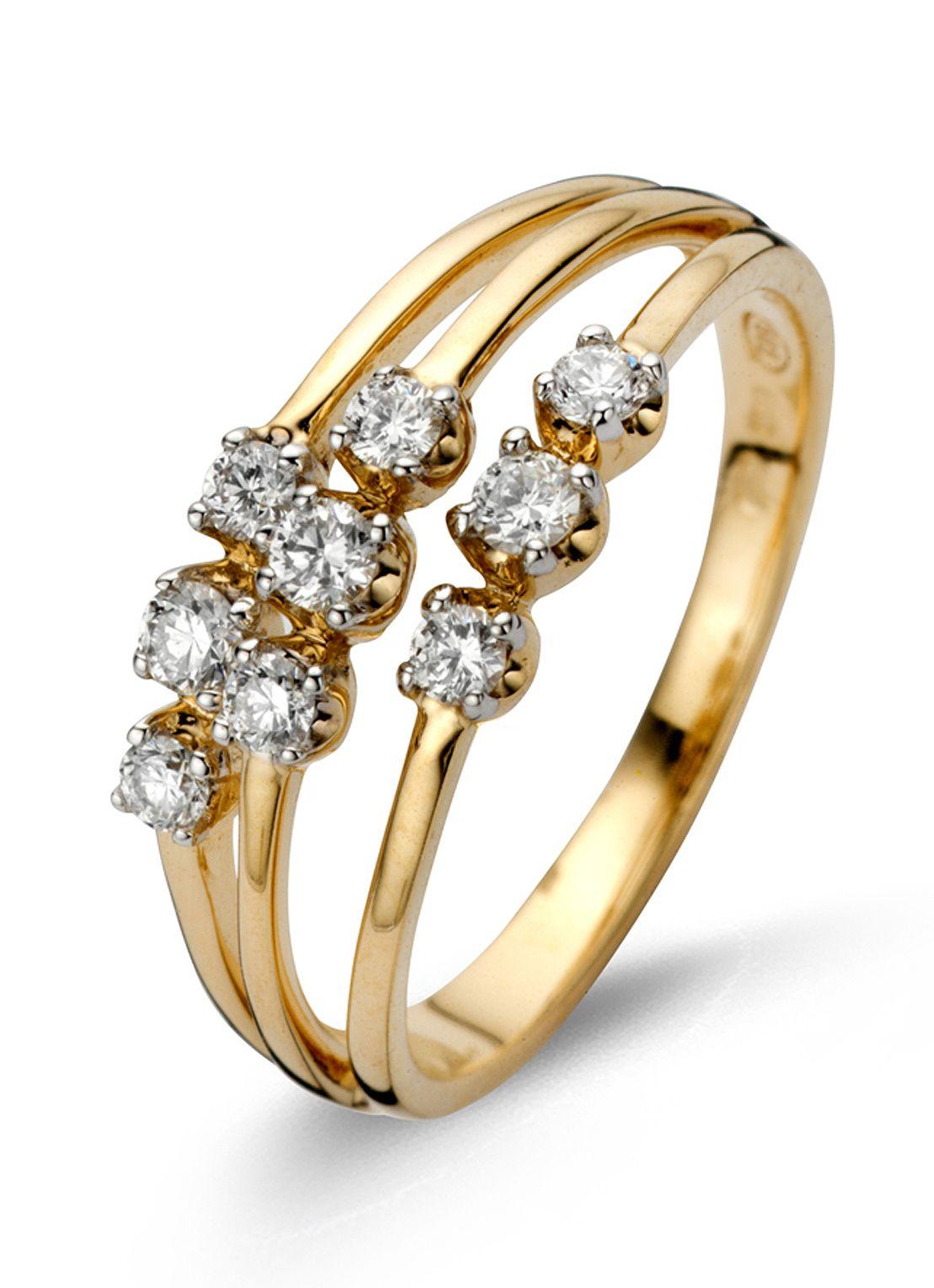 Alliance geelgouden ring