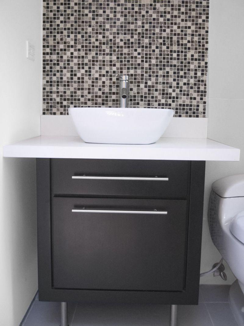 lavamanos con mueble muebles pinterest laundry