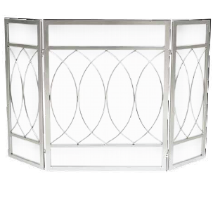 Brushed Nickel Fireplace Screen Fireplace Screens Rustic Family