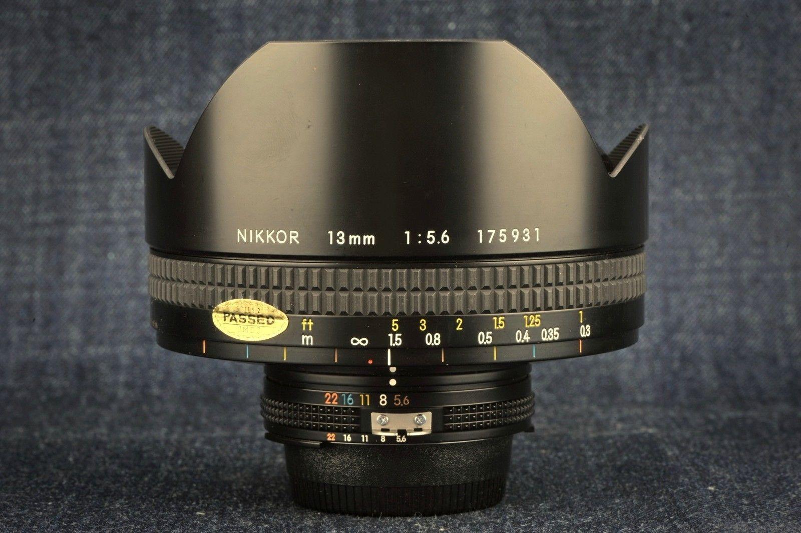 Details about [ MINT IN BOX ] Nikon Ai-S Ais Nikkor 35mm F