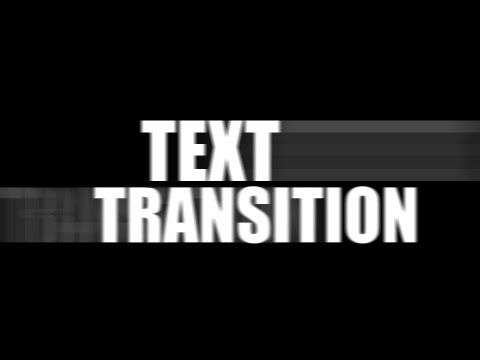Sony Vegas Pro: Smooth Text Transition - YouTube | Tutorials | Sony
