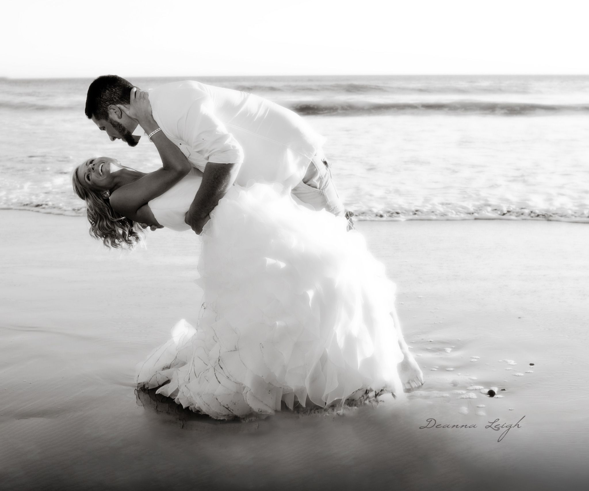 Destination private beach wedding oregon coast