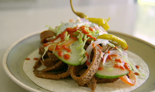 Tom Kerridge Low Calorie Lamb Doner Kebab Recipe On Lose Weight For Good