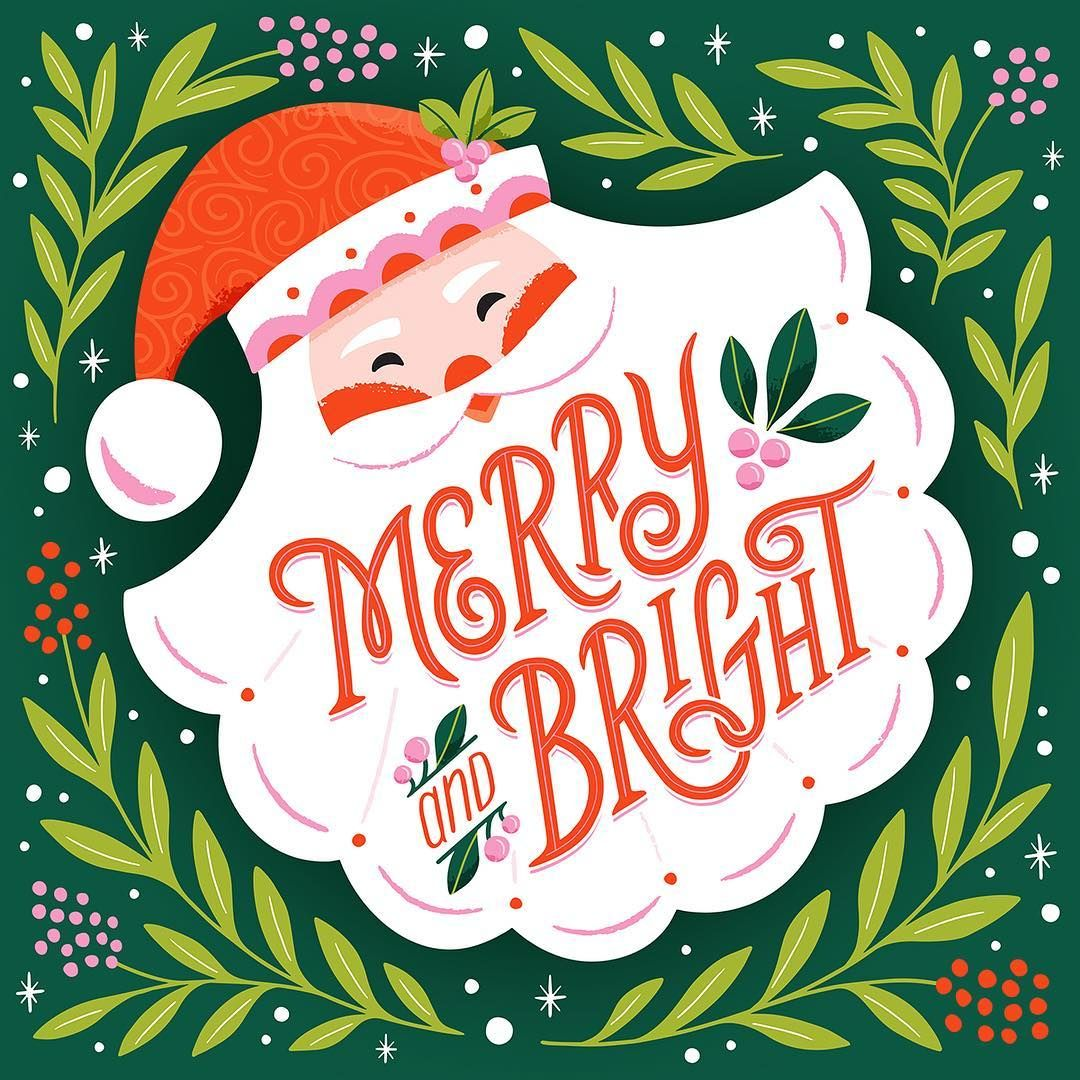 Image may contain text Christmas illustration