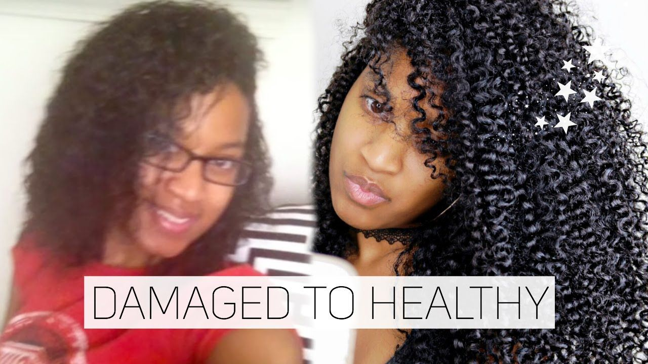Damaged Hair to Healthy Hair + 2 DIY Protein Treatments! | How I Repaired My Damaged Hair