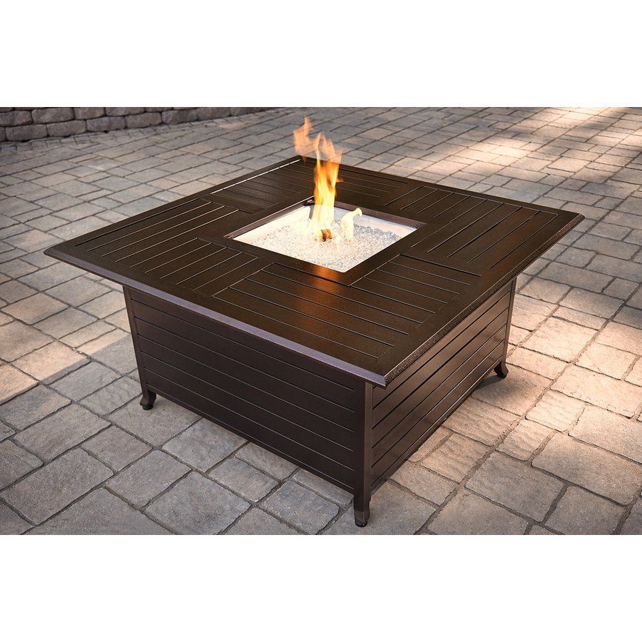 gold coast propane fire pit table at costco 689 99 backyard