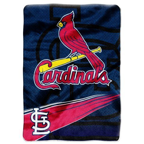 MLB St Louis Cardinals Speed Plush Raschel Throw Blanket 40x40 Inspiration St Louis Cardinals Throw Blanket