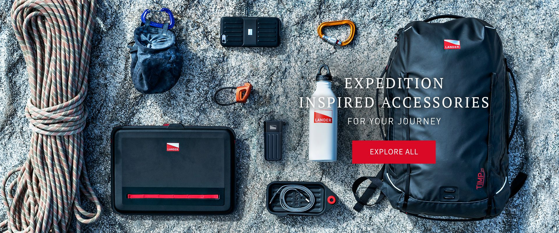 Expedition Inspired Phone Cases and Accessories LANDER