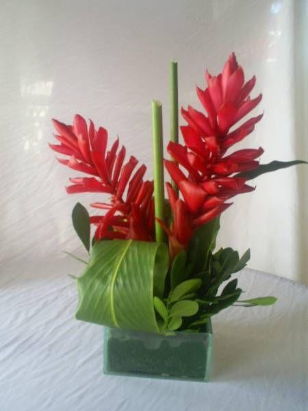 Arranjo Tropical Centro De Mesa Florart Decoracoes Com