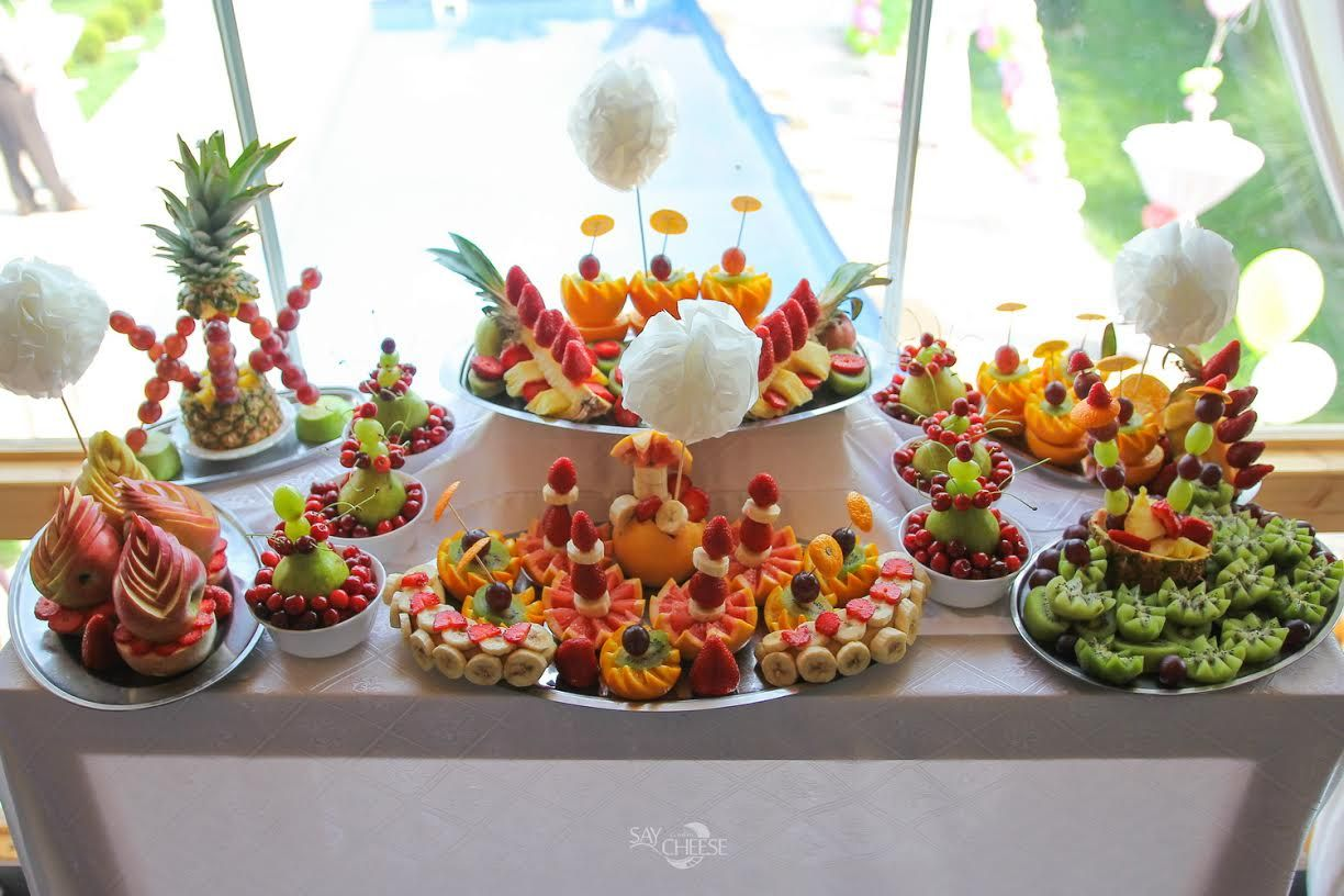 Fruit Table Sweet Table Wedding Sweet Table Table Decorations
