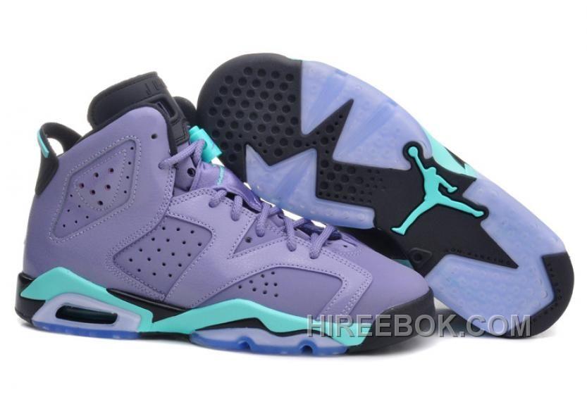hot sale online 0ce16 081ab Buy Wholesale Nike Air Jordan Vi 6 Retro Womens Shoes Purple Blue Hot Sale  from Reliable Wholesale Nike Air Jordan Vi 6 Retro Womens Shoes Purple Blue  Hot ...