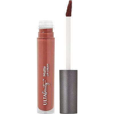 Ulta Matte Lip Cream In Courageous Medium Bluish Brown