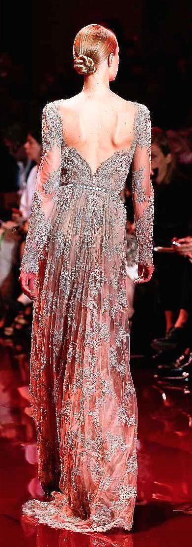 Elie Saab | STUNNING CLOTHES | Pinterest | Glamour, Vestido elegante ...