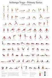 free printable yoga poses chart  google search en 2020