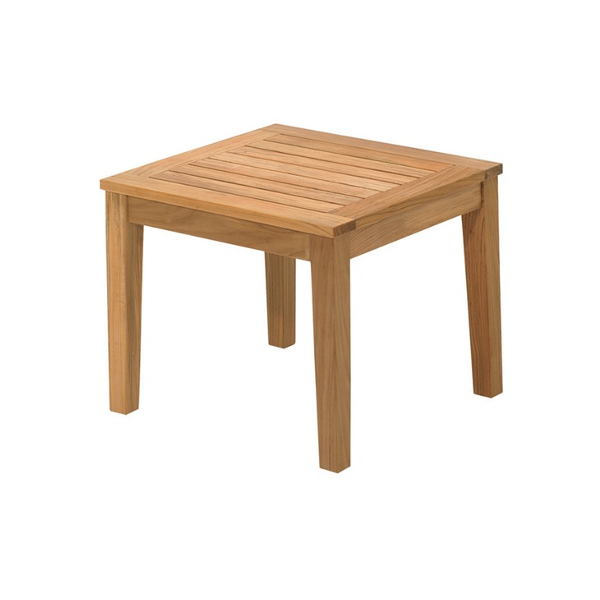 FormOutdoors - Live Outdoors Gloster Standards Large Square Side Table #modern #teak #wood #outdoorsidetable #outdoorfurniture