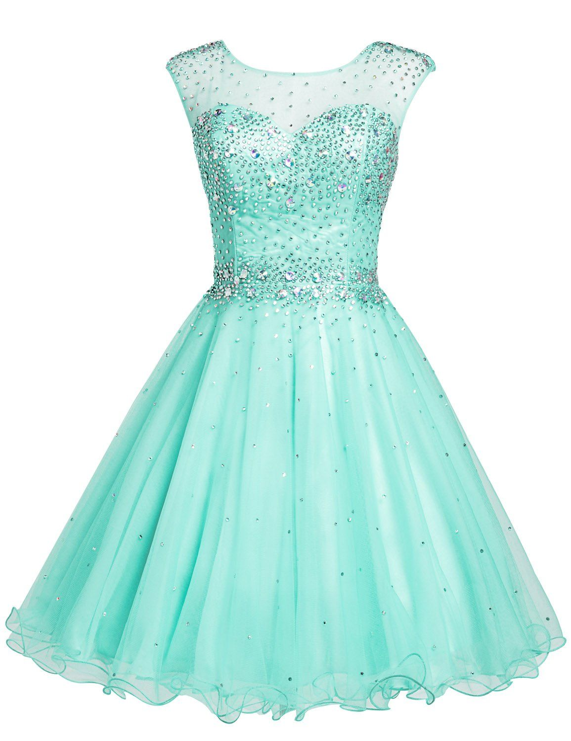 Amazon sarahbridal girls short tulle beading homecoming dress
