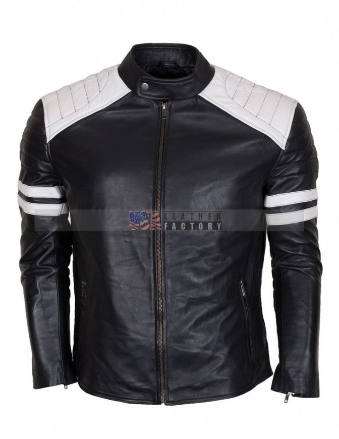 Fight Club Leather Jacket | Fight club, Leather jackets and ...