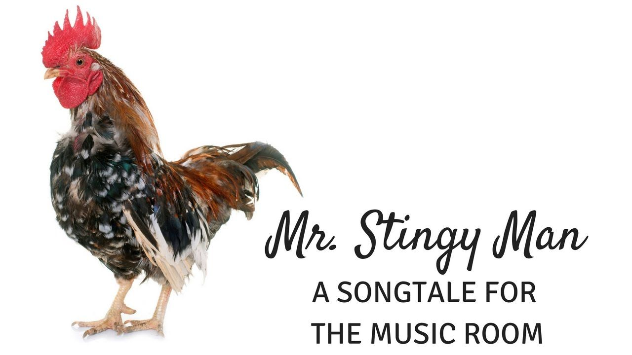 Mr  Stingy Man: A fun songtale for your music lessons - YouTube