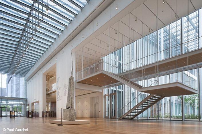 The Art Institute Of Chicago Modern Wing And Nichols Bridgeway