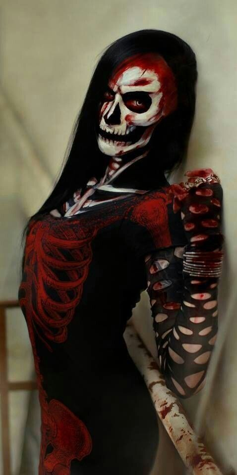 The Best Scary Halloween Costumes.Pin By Kd Cordes On Skulls Reapers Scary Halloween Costumes Halloween Makeup Scary Scary Costumes