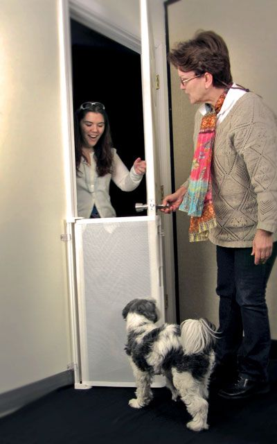 The Bow Wow Barrier Prevents Pets From Running Out The Door 70