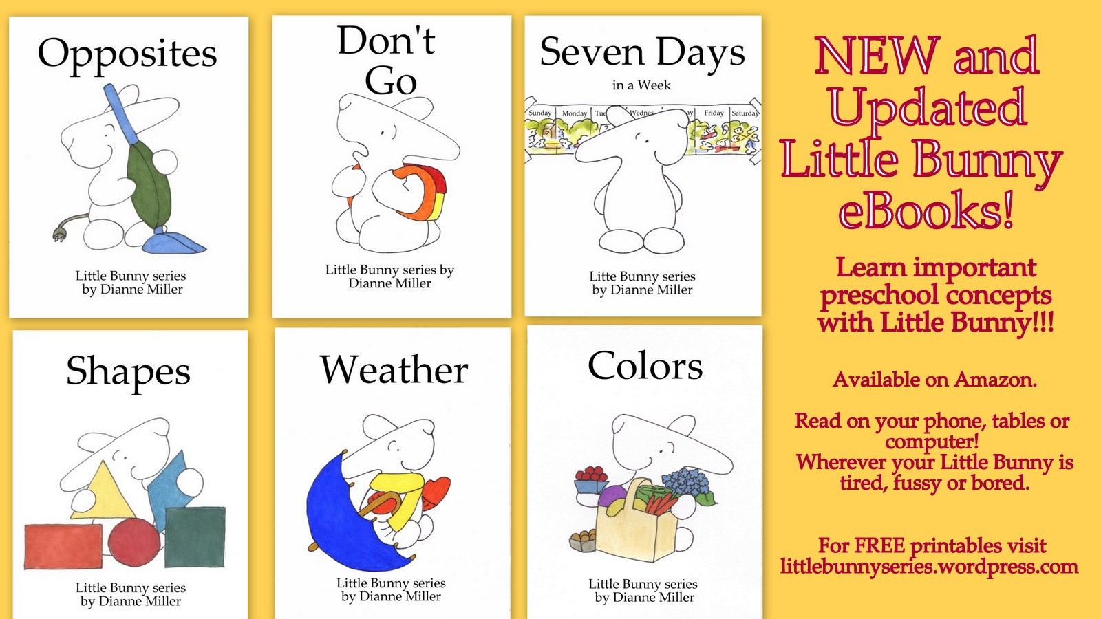 Learn Preschool Concepts Read Little Bunny Ebooks On All