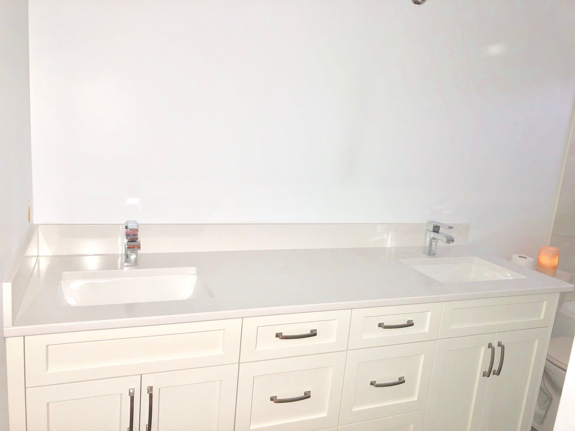 clean and fresh bathroom vanity with the help of a quartz on replacement countertops for bathroom vanity id=33952