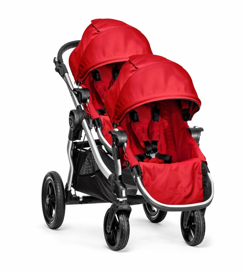 Baby Jogger City Select Double Stroller Ruby Baby Jogger City Select City Select Stroller City Select Double Stroller