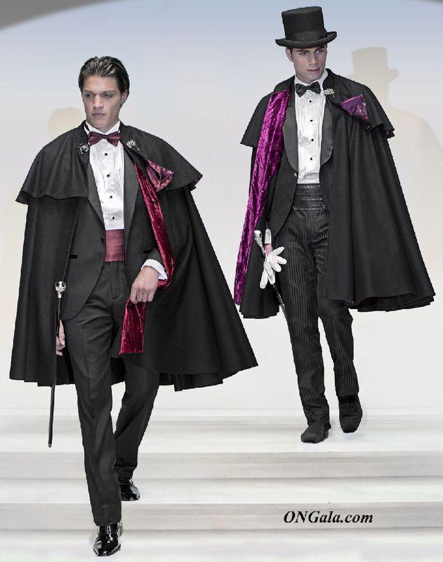 Menswear Cape Capa Cape Menswer Formal Capa Cape Fashion Fashion Clothes Women Formal Attire For Men