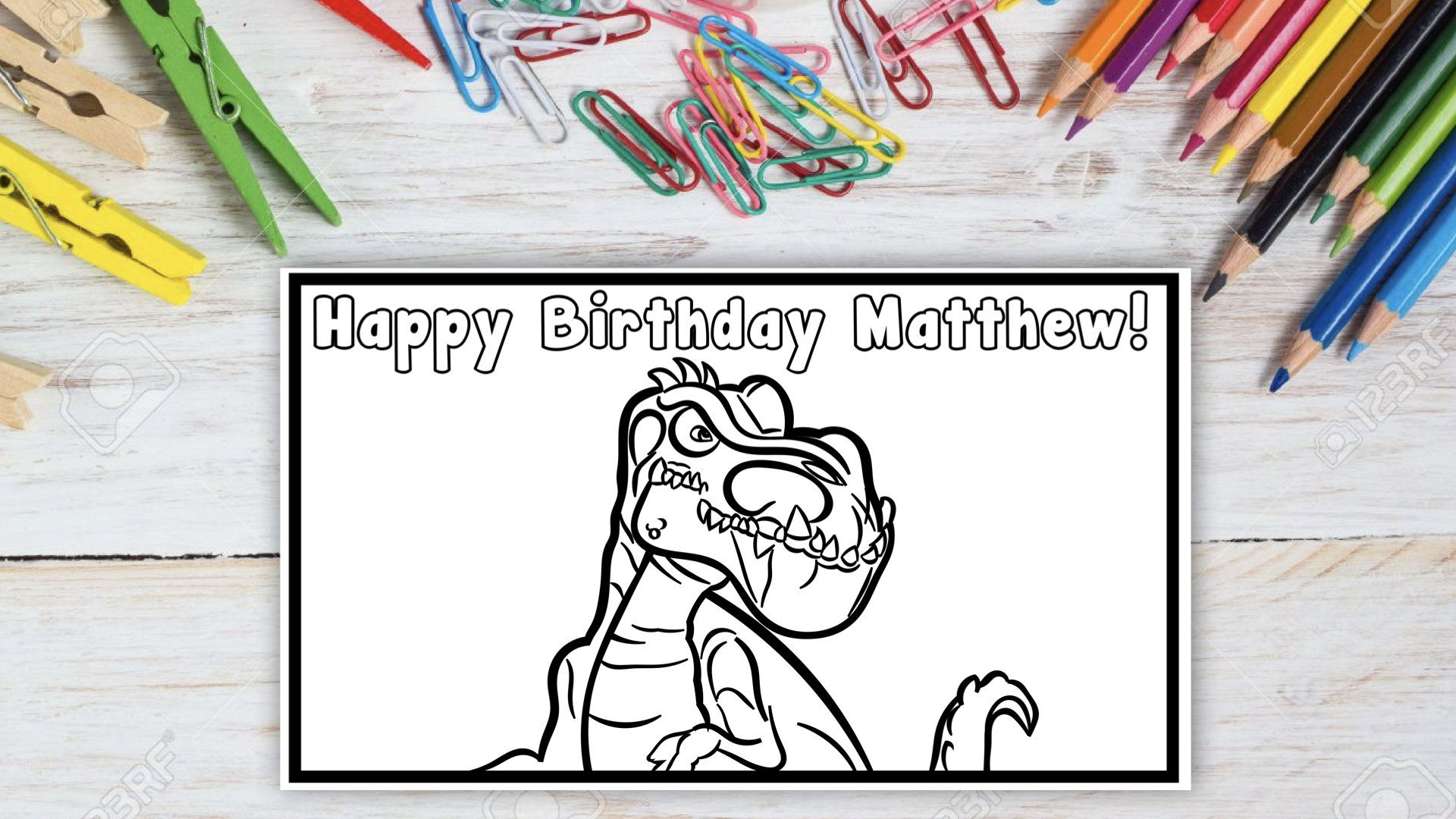 Customized Gigantosaurus Coloring Page Etsy In 2021 Coloring Pages Printable Coloring Pages Color