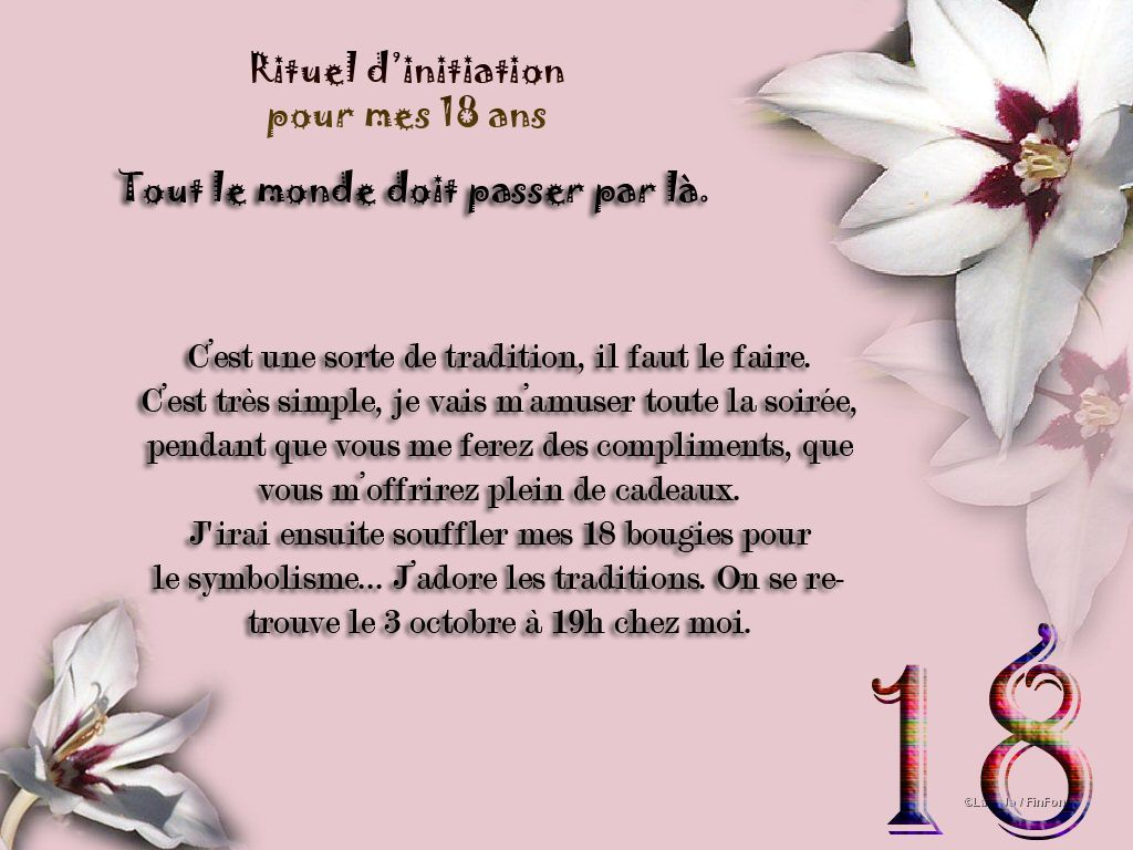 """Bien connu Résultat de recherche d'images pour """"texte invitation anniversaire  YD73"""