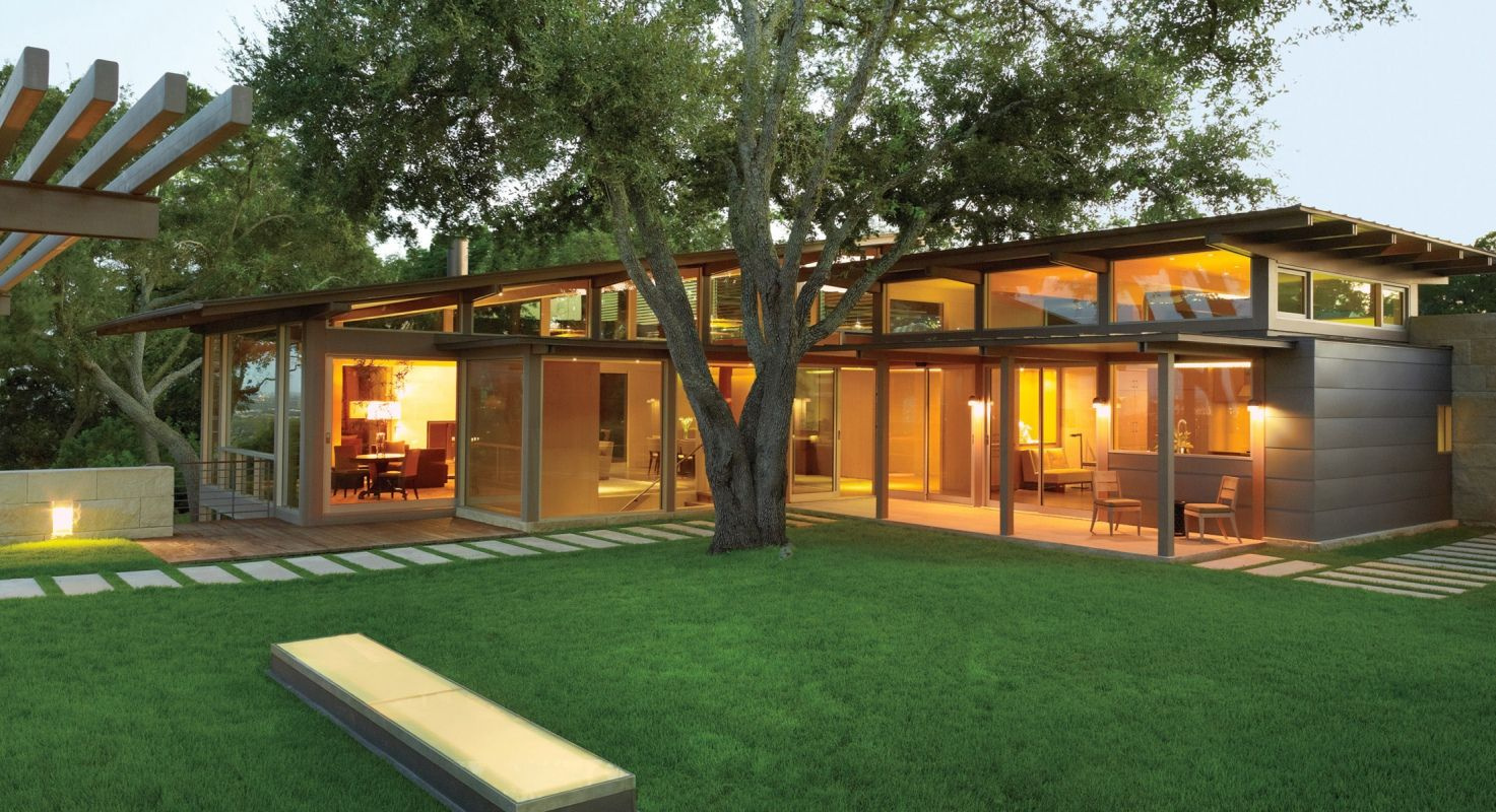 modern exterior by ray booth in nashville tn english